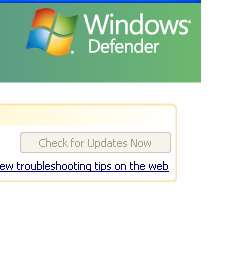 Microsoft Windows Defender 1.1.1592.0