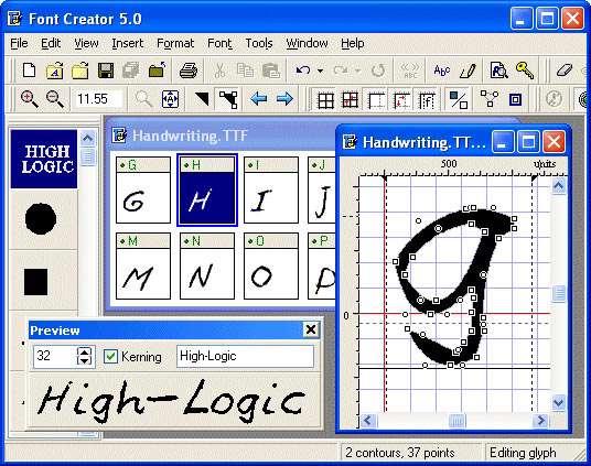 Font Creator 5.5
