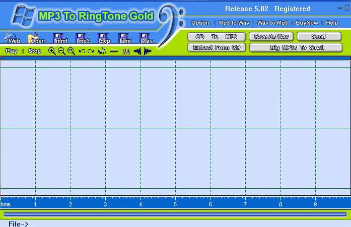 MP3 To Ringtone Gold 5.02