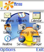 Mobile Theme for Symbian