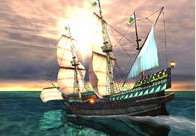 Galleon 3D Screensaver 1.3