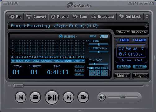 JetAudio 7.0.5.3040 Plus VX