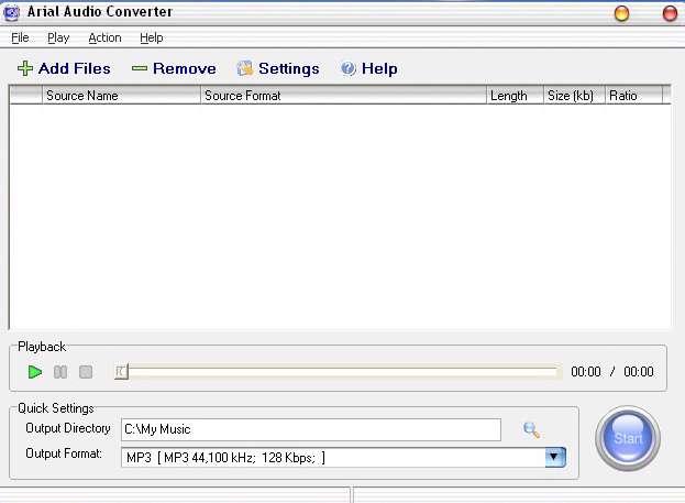 Arial Audio Converter 2.3.57