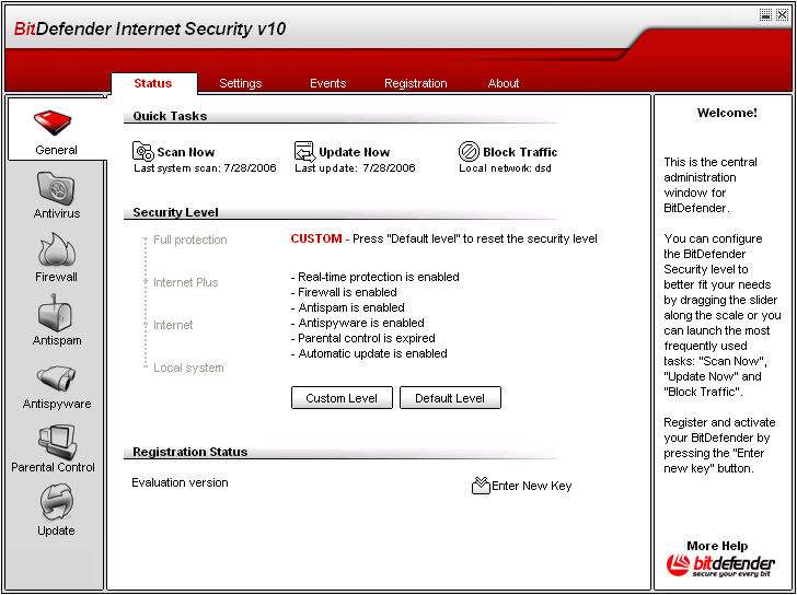 BitDefender Internet Security 10 Build 247