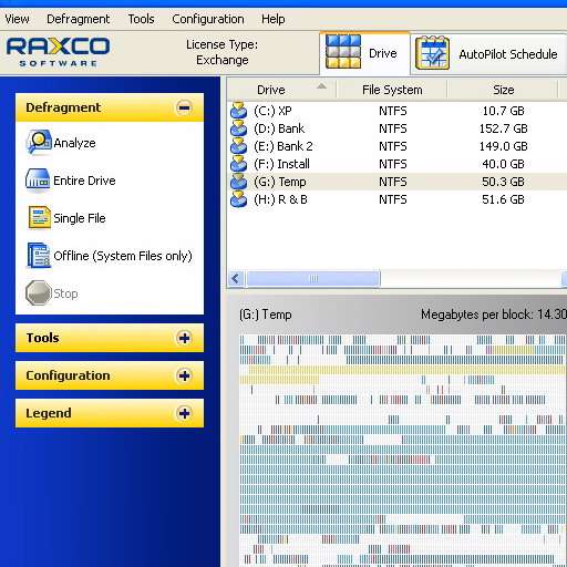 Raxco PerfectDisk 8.0 Build 64 Workstation