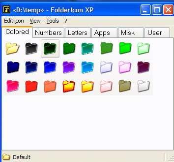 FolderIcon XP 1.02