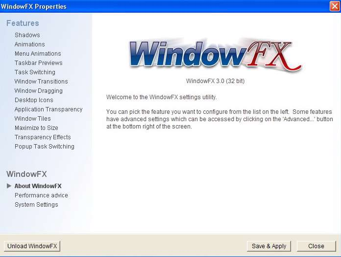 WindowFX v3.0 Enhanced