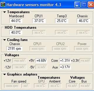 Hardware Sensors Monitor v4.3.1.2 Pro