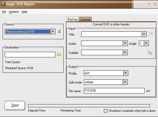 Magic DVD Ripper 5.1