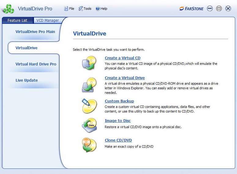 Farstone VirtualDrive Pro 11.5