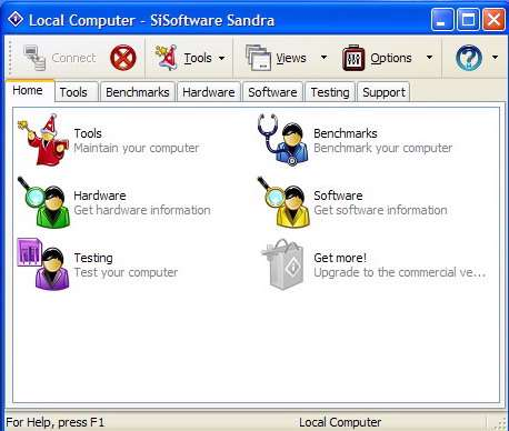 SiSoftware Sandra Pro Business XII 2008.1.12.30