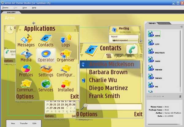 Nokia Series 60 Theme Studio v3.0