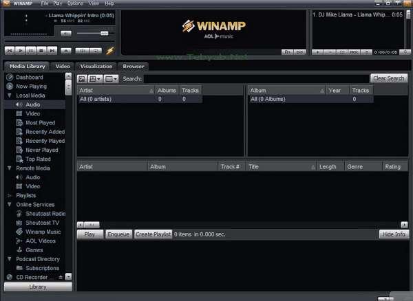 Winamp 5.52 Build 1800 - Final
