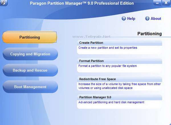 Paragon Partition Manager v9.0 Professional