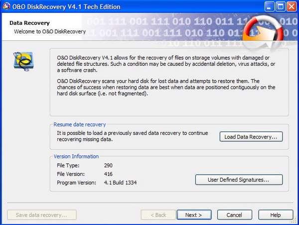 O&O DiskRecovery 4.1.1334