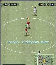 بازی فوتبال Pro Evolution Soccer 2008 برای موبایل