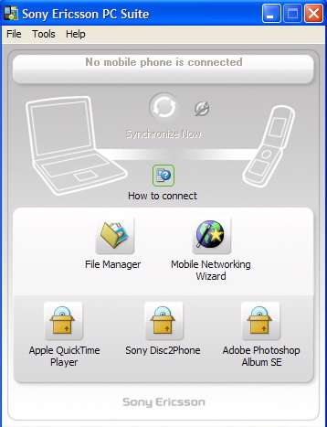 Sony Ericsson PC Suite 2.0.60