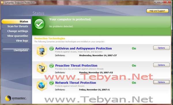 دانلود آنتی ویروس سیمانتک Symantec Endpoint Protection 12.1.7061.6600