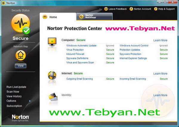 Norton AntiVirus 2008 v15.5.0.23