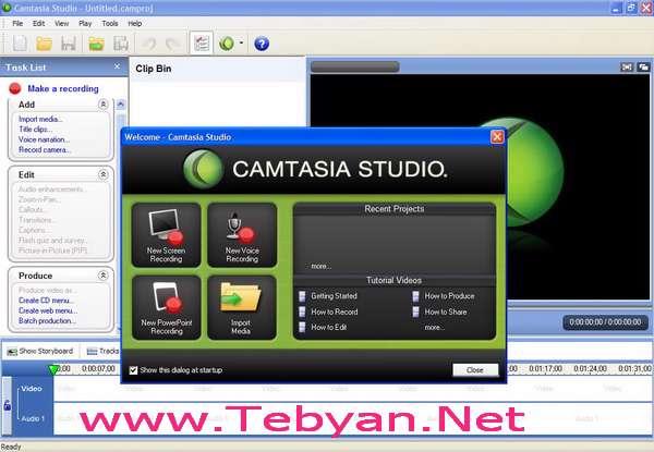 Camtasia Studio 5.1.0