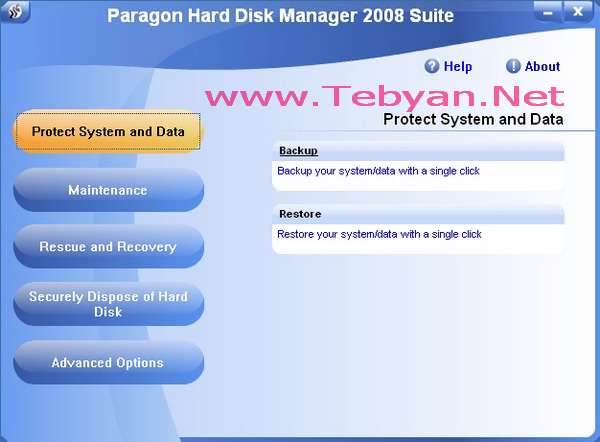 Paragon Hard Disk Manager 2008 Professional Edition