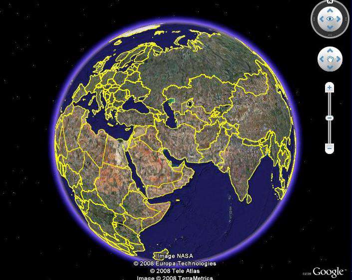 Portable Google Earth 4.3.7
