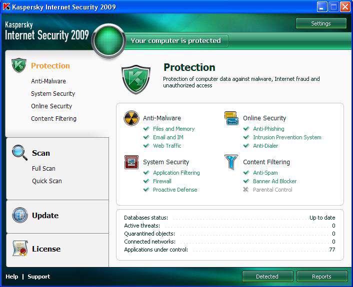 Kaspersky Internet Security 2009 8.0.0.357 Final