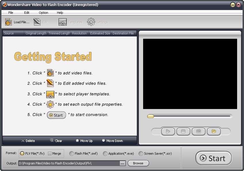 Wondershare Video to Flash Encoder 3.0.2