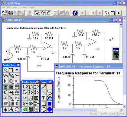 Electronic Circuit Shop 2.04