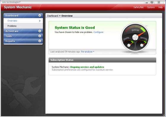 System Mechanic 8.0.0