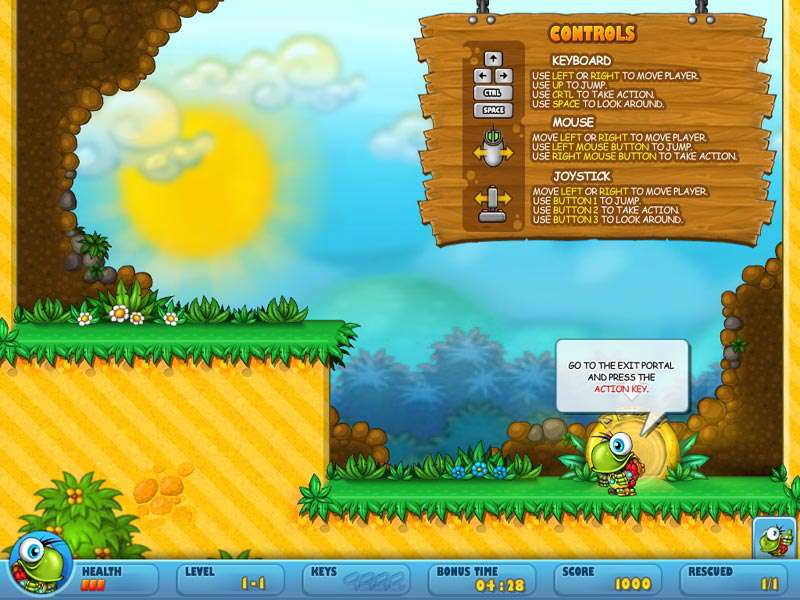 بازی کم حجم و زیبای Turtix 2 Rescue Adventures