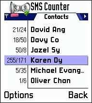 SMSCounter