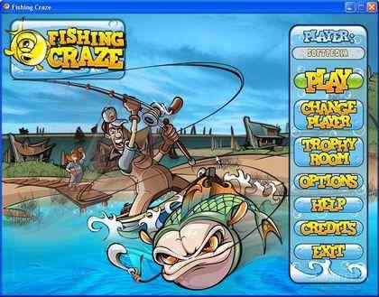 بازی مسابقات ماهیگیری Fishing Craze