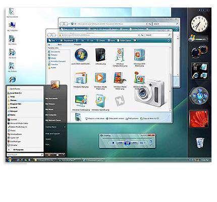 محیط زیبای ویندوز ویستا با Vista Transformation Pack 9.0.1