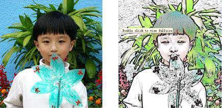 تبدیل تصاویر به نقاشی با LiangZhu Software Photo To Color Sketch 6.97