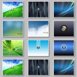تصاویر پس زمینه برای ویندوز ویستا