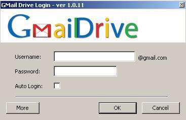 GMail Drive v1.013