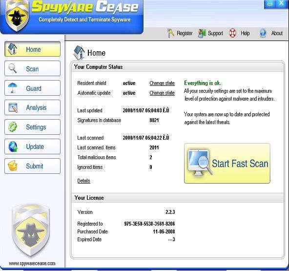 Spyware Cease v2.2.1