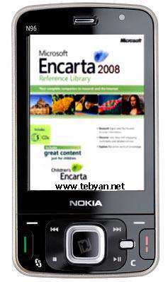 Microsoft Encarta 2008 for Mobile Phones