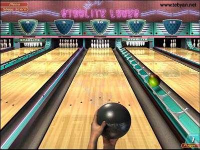 بازی Ten Pin Championship Bowling Pro