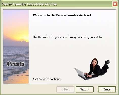 RinjaniSoft Presto Transfer Ultimate v3.1