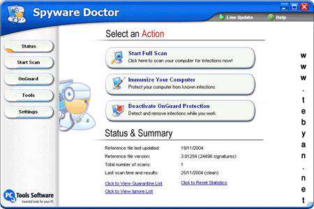 Spyware Doctor 6.0.0.354