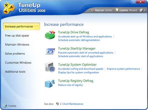TuneUp Utilities 2008 7.0.8007