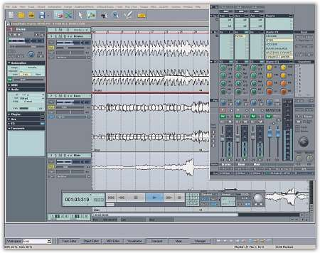 Samplitude Music Studio v14.0.2