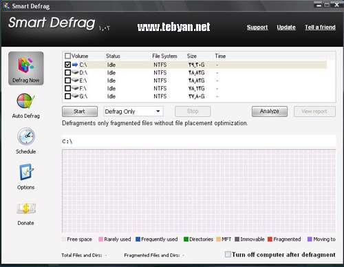 IOBit Smart Defrag 1.03 Portable