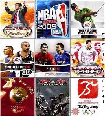 بازی های 2009 برای موبایل