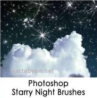 Photoshop Starry Night Brushes