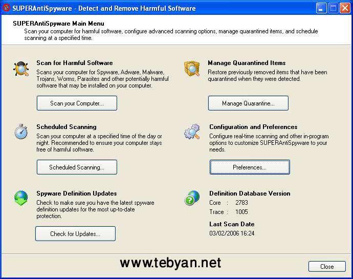 SUPER AntiSpyware Pro 4.22.1014