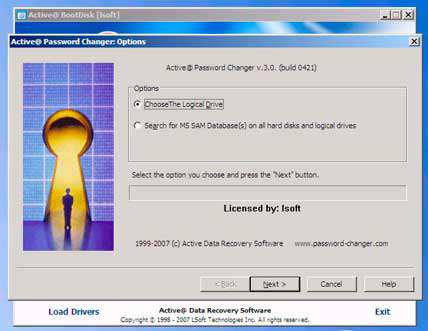 Active Password Changer Professional 3.5