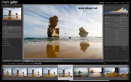 Adobe Photoshop Lightroom 2.2 برای ویندوزهای 32 بیتی